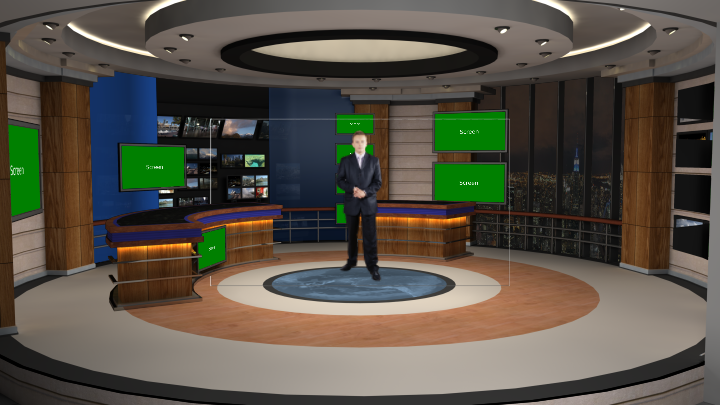Virtual Set Studio 190