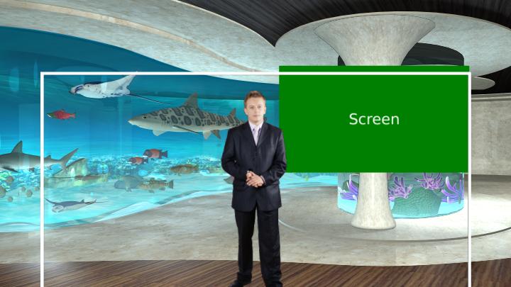 水族馆主题虚拟背景