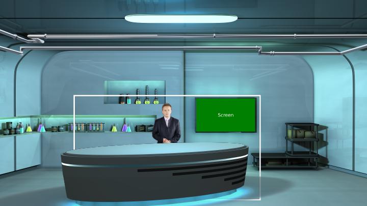 化学实验室主题虚拟背景