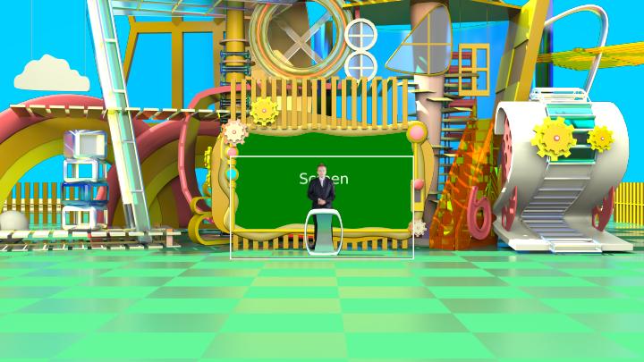 游乐场主题风格虚拟背景