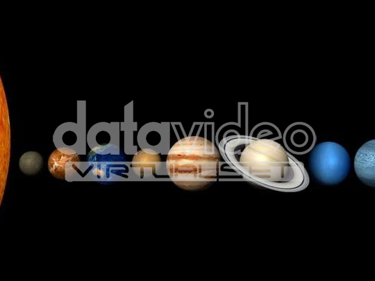 太阳系行星展示3D动画_01