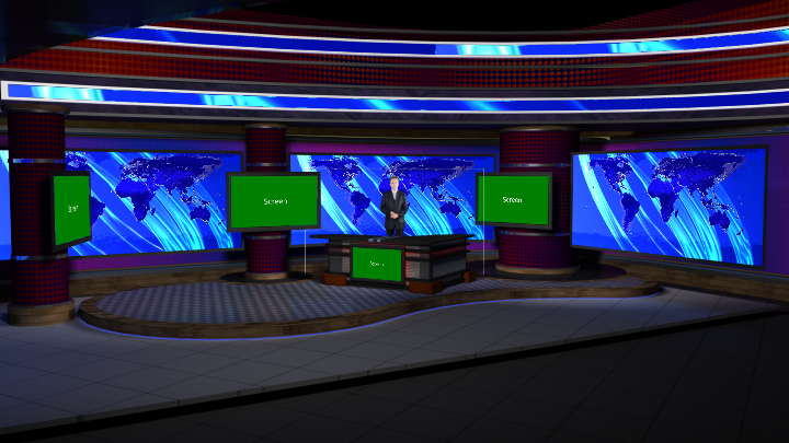 Virtual Set Studio 187