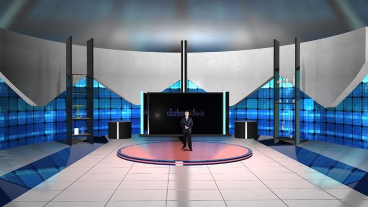 【TVS-2000A】 LED显示墙虚拟演播室背景