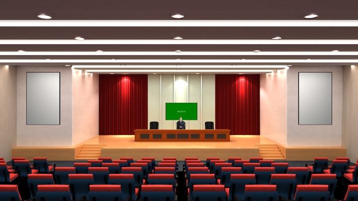 教育讲堂虚拟演播室背景