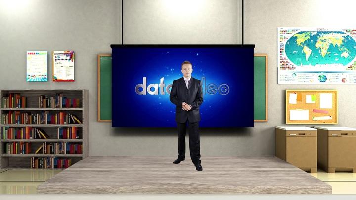 【TVS-3000】校园教室虚拟演播室背景