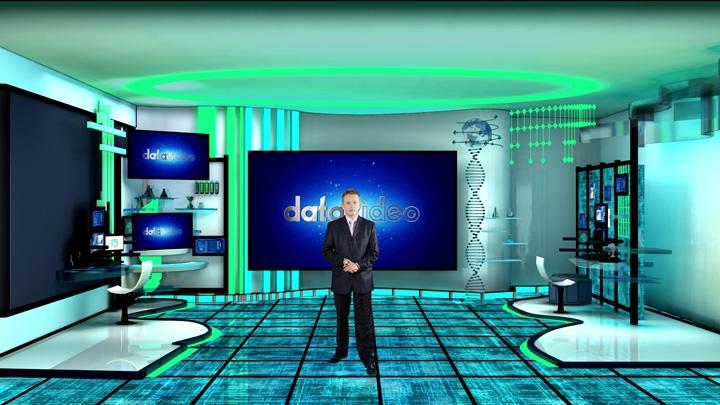 【TVS-3000】科幻虚拟演播室背景