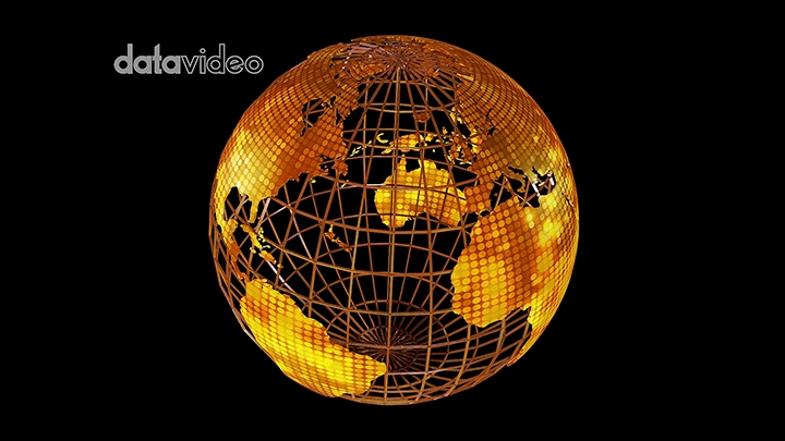 【TVS-3000_AR】金色地球