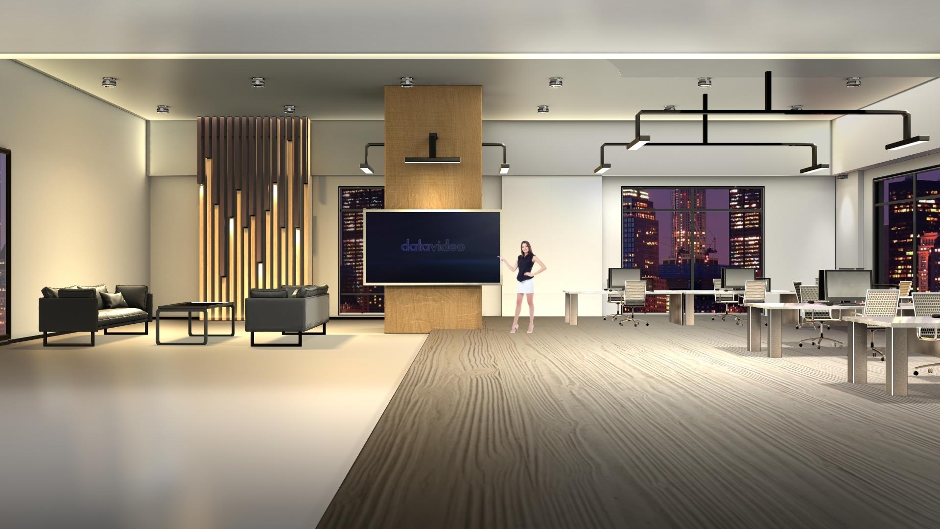 【TVS-2000A】夜晚风格企业会议空间