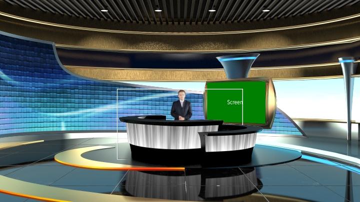 会议/演示虚拟背景场景素材
