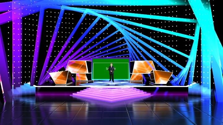 环形舞台虚拟场景素材