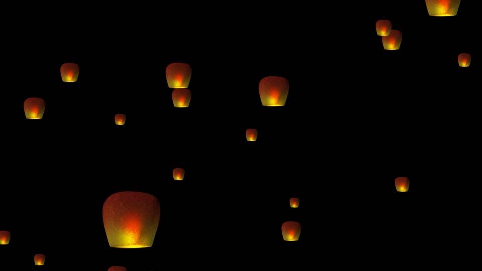 飞向天空的灯笼_01