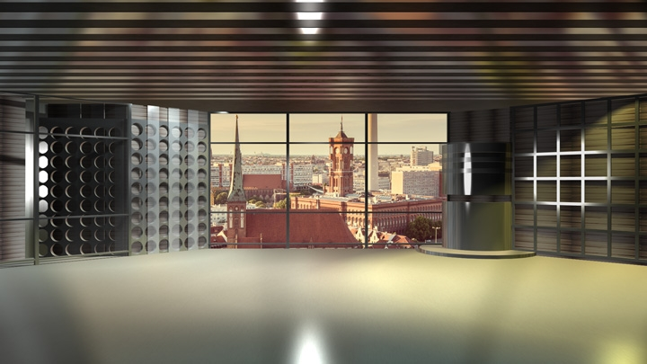 【TVS-2000A模板】宽敞面谈空间虚拟背景