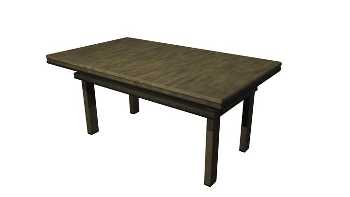 【TVS-2000A 3D装饰物件】桌子_2