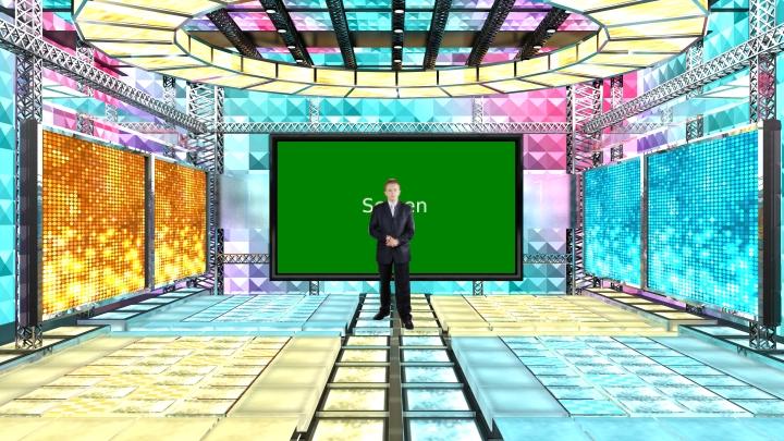 幻想舞台类虚拟背景