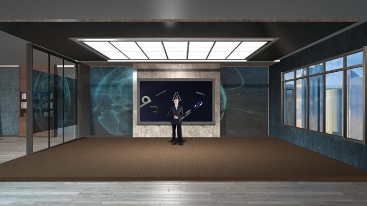 【TVS-2000A】公寓风格虚拟演播室背景