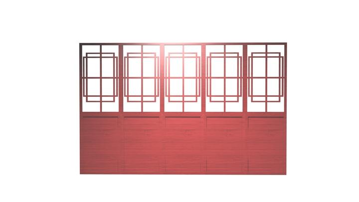 【TVS-2000A 3D装饰物件】装饰墙_5