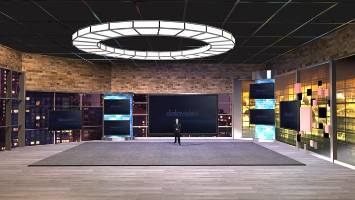 【TVS-2000A】娱乐和综艺节目虚拟场景