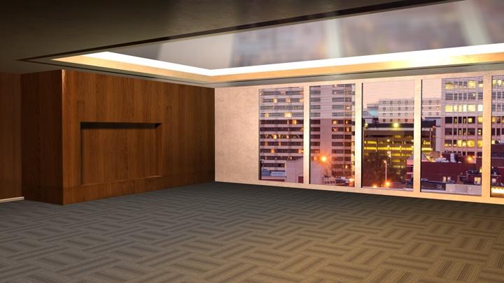 【TVS-2000A模板】办公室会议虚拟场景